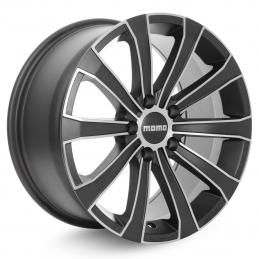 Momo Europe 8x17 PCD5x105 ET40 DIA 56.6  Matt Carbon-Polished